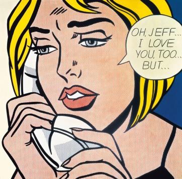 Oh Jeff, Roy Lichtenstein