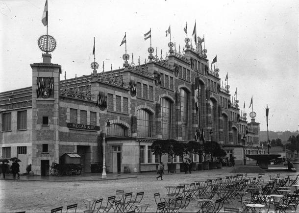 La Halle en 1914