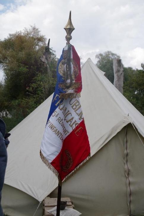 Drapeau du 5ème Régiment d'Infanterie